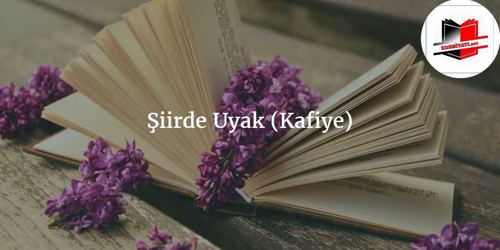 Şiirde Uyak (Kafiye)